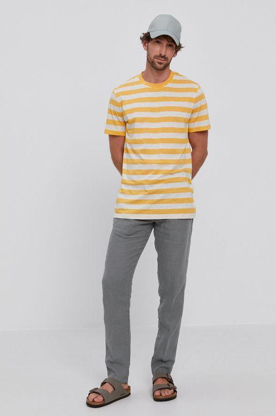 Selected - T-shirt jasny pomarańczowy