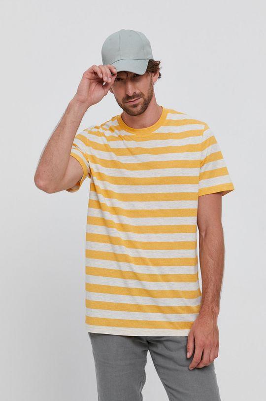 jasny pomarańczowy Selected - T-shirt