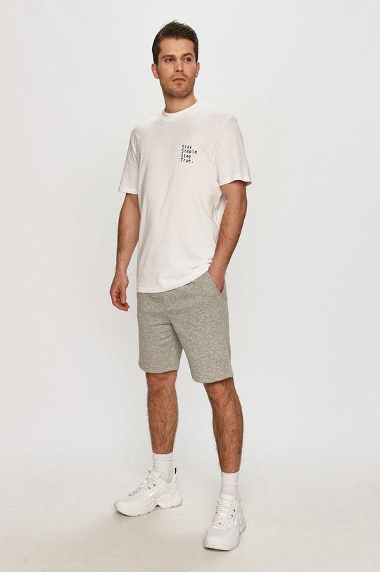 Selected - T-shirt biały