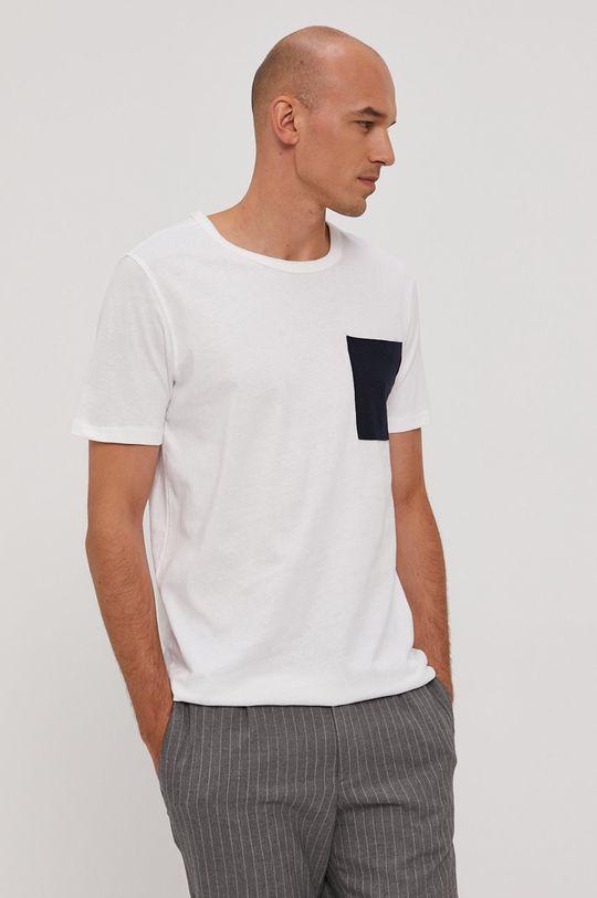 Selected - Tričko bílá