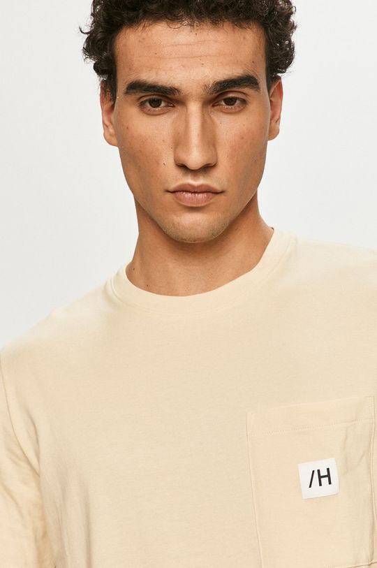 piaskowy Selected - T-shirt
