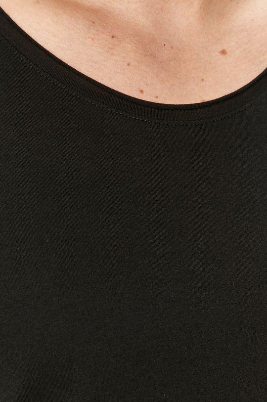 czarny Selected - T-shirt