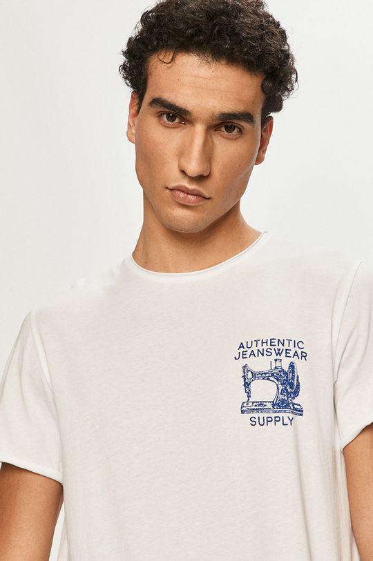 bílá Selected - Tričko Pánský