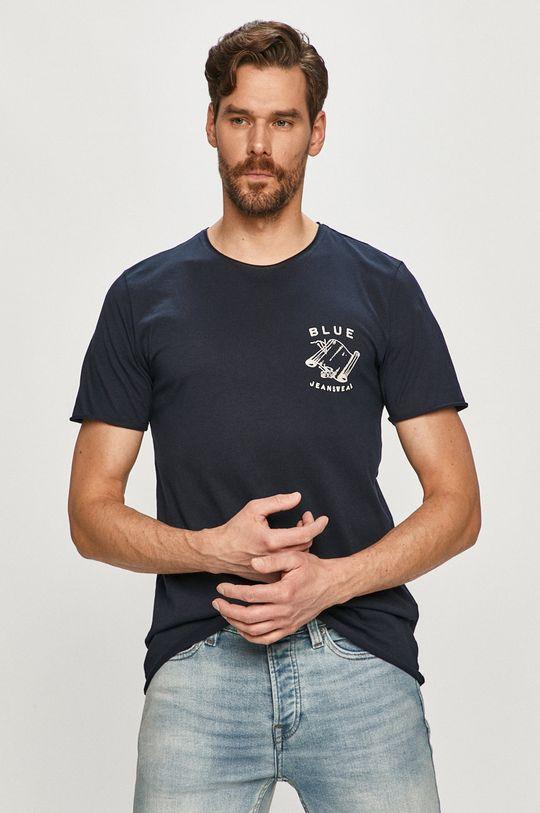 granatowy Selected - T-shirt