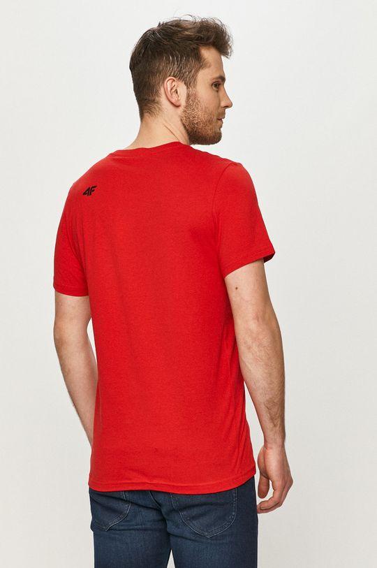 4F - T-shirt Materiał 1: 100 % Bawełna, Materiał 2: 95 % Bawełna, 5 % Elastan