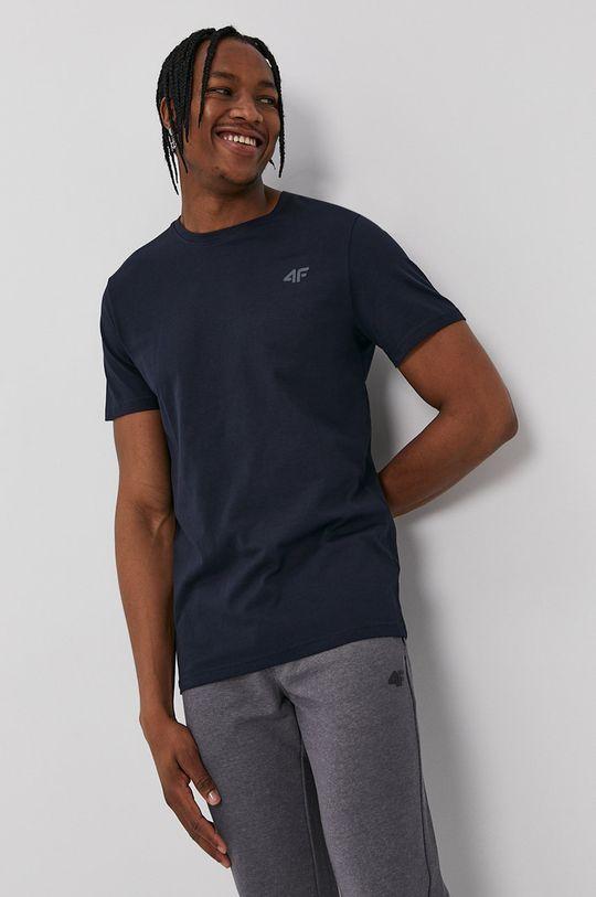 námořnická modř 4F - Tričko Pánský