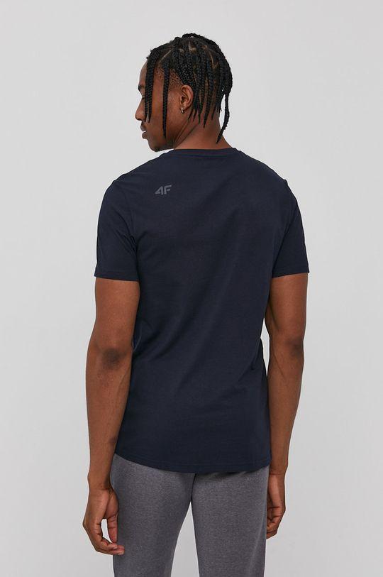 4F - Tričko námořnická modř