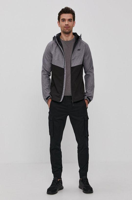4F - Tričko šedá