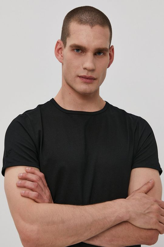 černá 4F - Tričko (2-PACK)