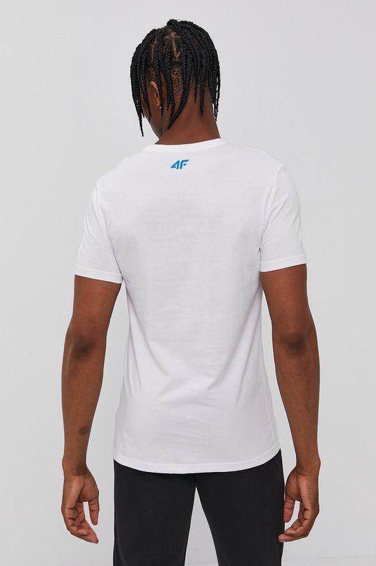 4F - Tričko bílá
