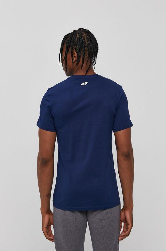 4F - T-shirt granatowy