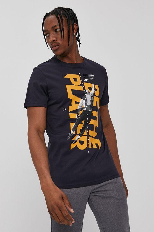 granatowy 4F - T-shirt Męski