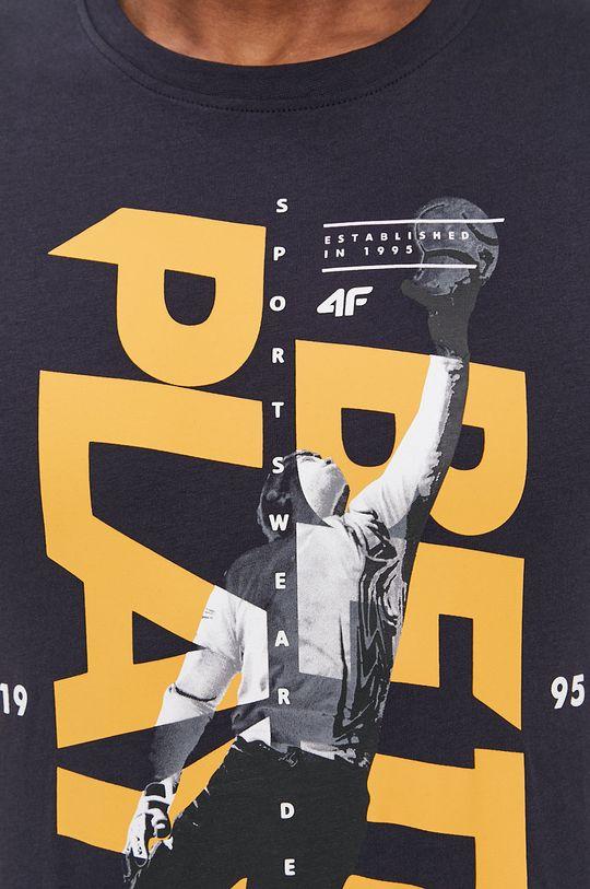 granatowy 4F - T-shirt