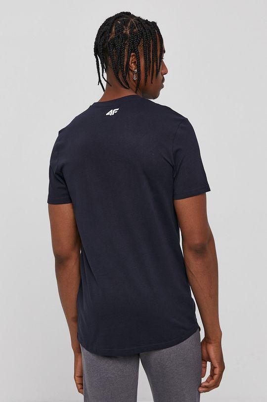 4F - Tričko tmavomodrá