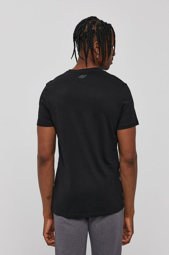 4F - Tricou negru