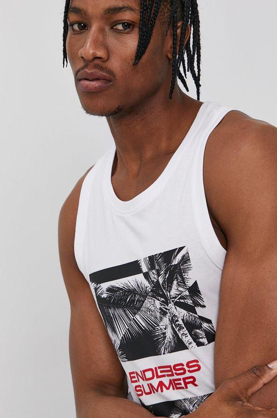 biały 4F - T-shirt