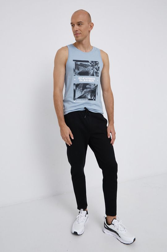 4F - T-shirt fioletowy