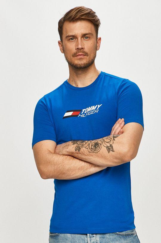 modrá Tommy Hilfiger - Tričko
