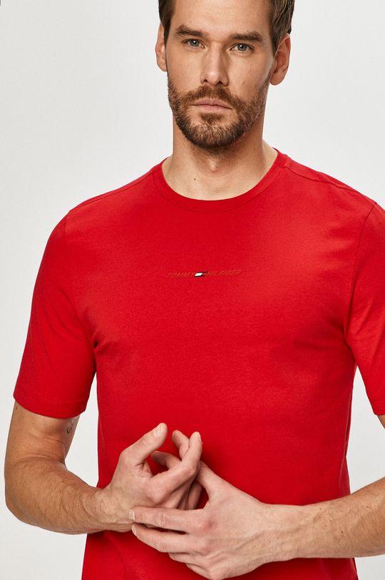 červená Tommy Hilfiger - Tričko Pánsky