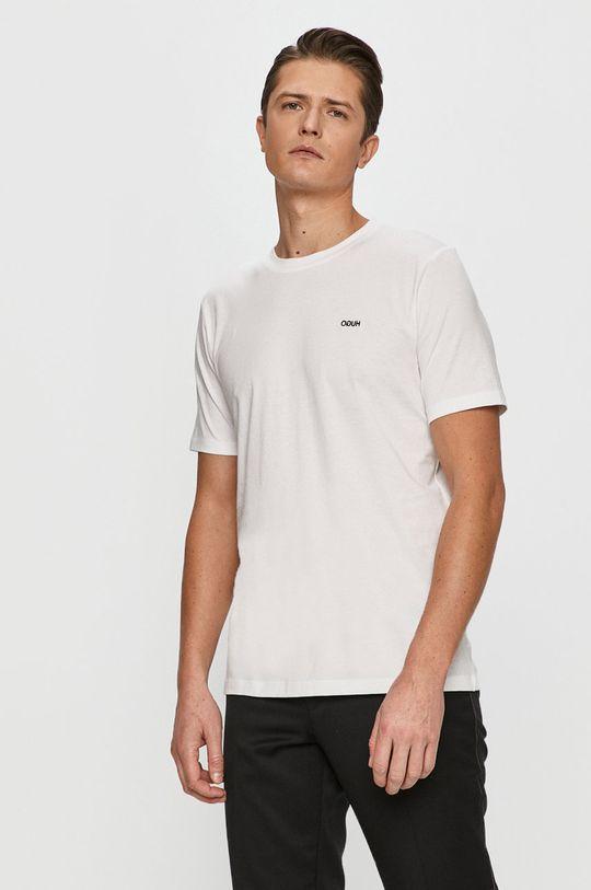 biały Hugo - T-shirt Męski