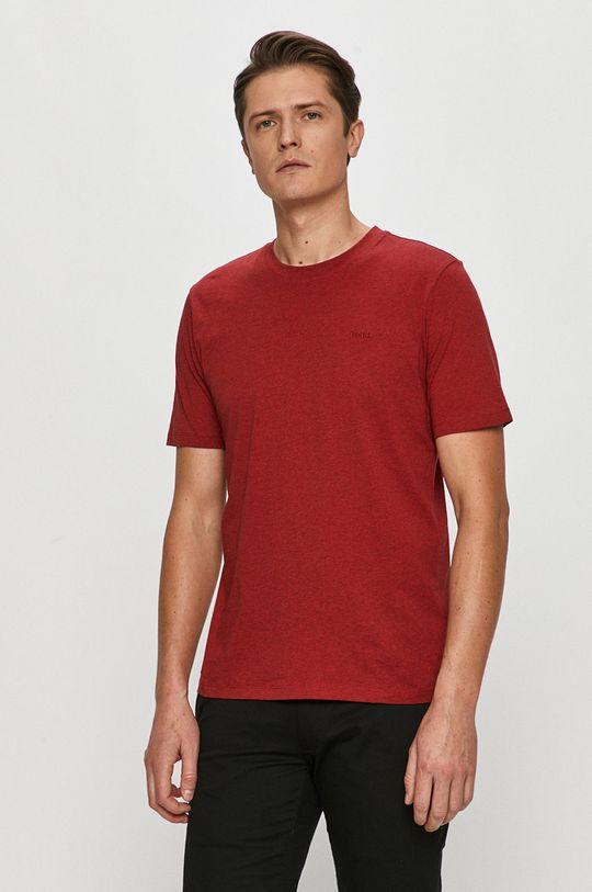 czerwony Hugo - T-shirt Męski
