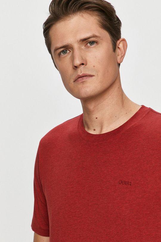 czerwony Hugo - T-shirt