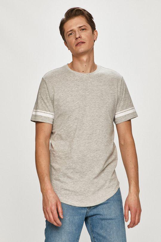jasny szary Only & Sons - T-shirt Męski