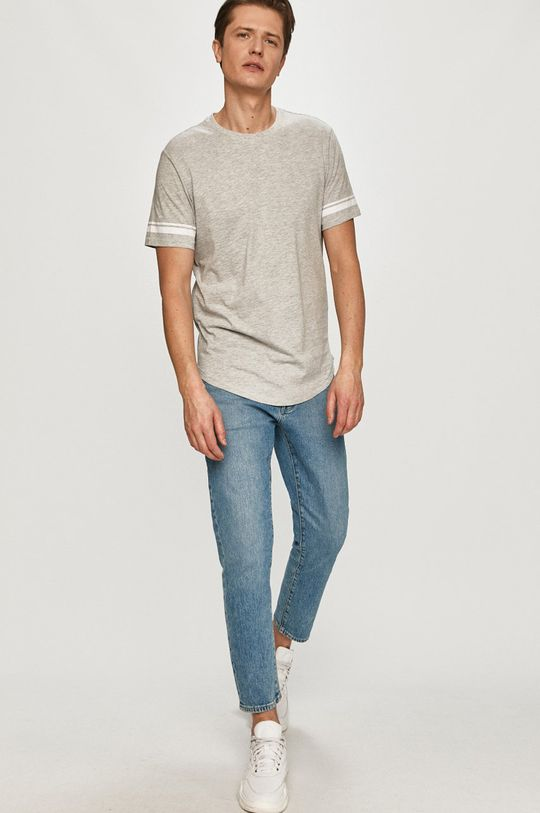 Only & Sons - T-shirt jasny szary