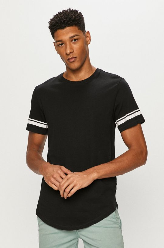 czarny Only & Sons - T-shirt