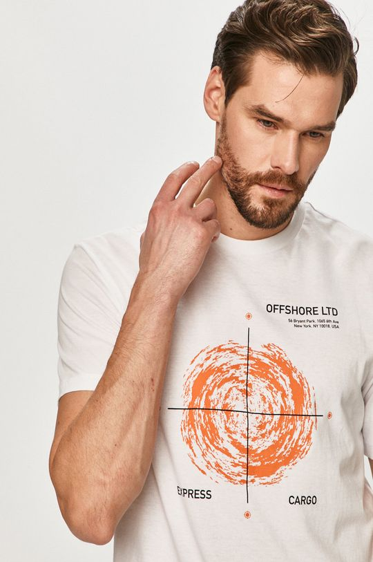 alb Only & Sons - Tricou