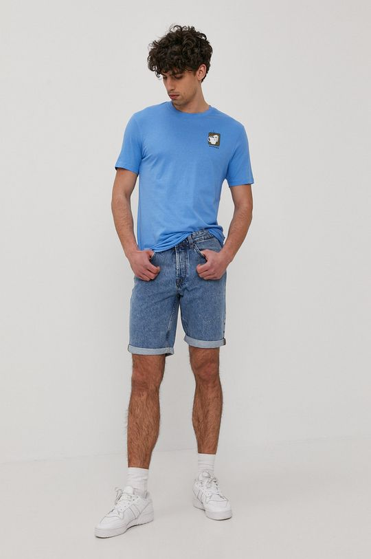 Only & Sons - T-shirt niebieski