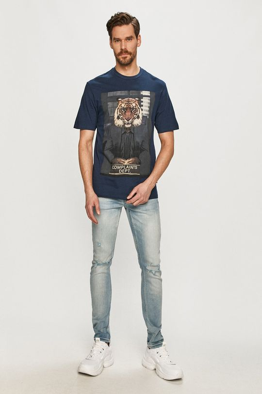 Only & Sons - T-shirt granatowy