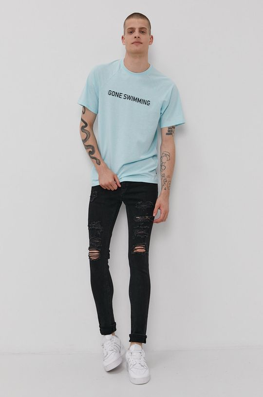 Only & Sons - T-shirt jasny niebieski