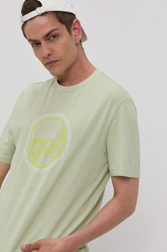 jasny oliwkowy Only & Sons - T-shirt