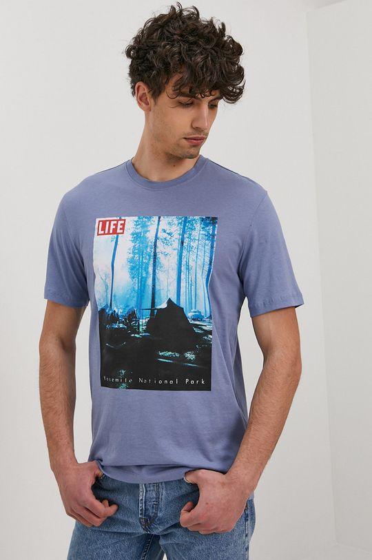 niebieski Only & Sons - T-shirt Męski