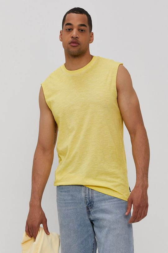 żółty Only & Sons - T-shirt Męski