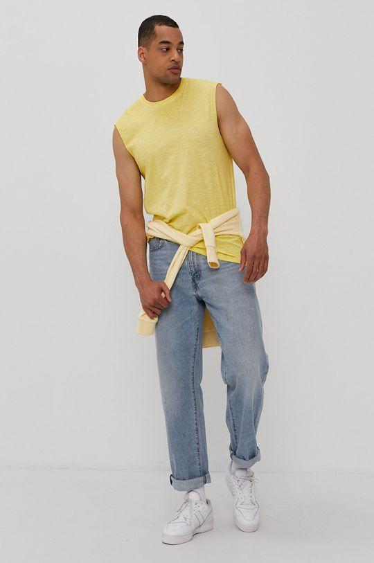 Only & Sons - T-shirt żółty