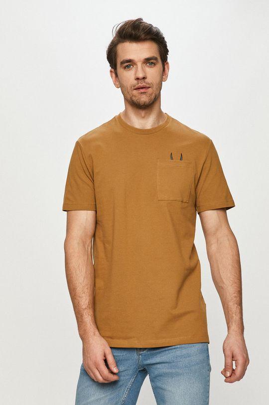 maro auriu Only & Sons - Tricou De bărbați