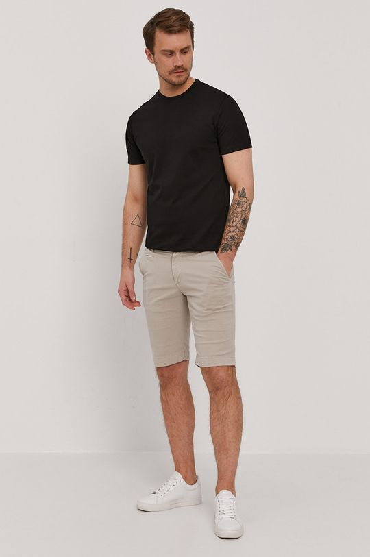Baldessarini - T-shirt czarny
