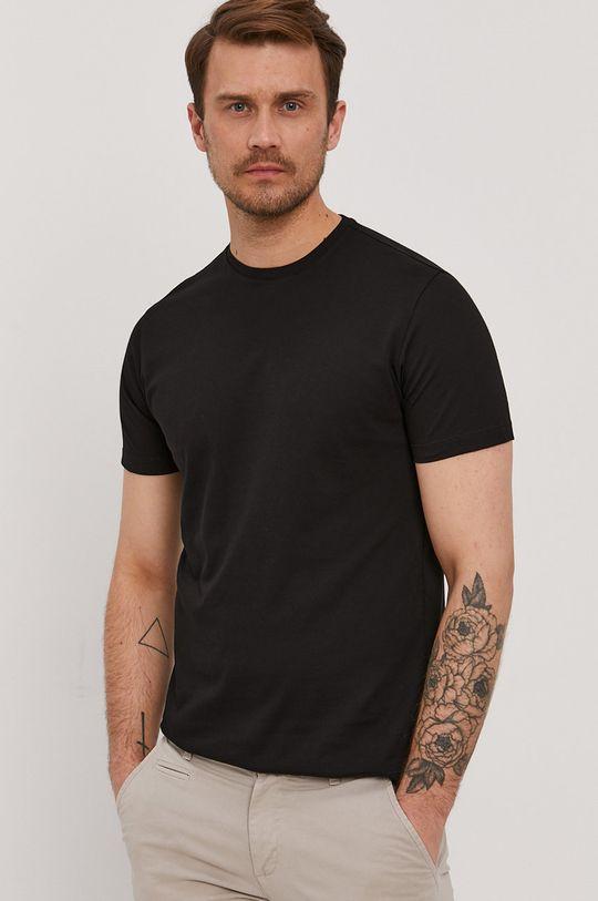 czarny Baldessarini - T-shirt