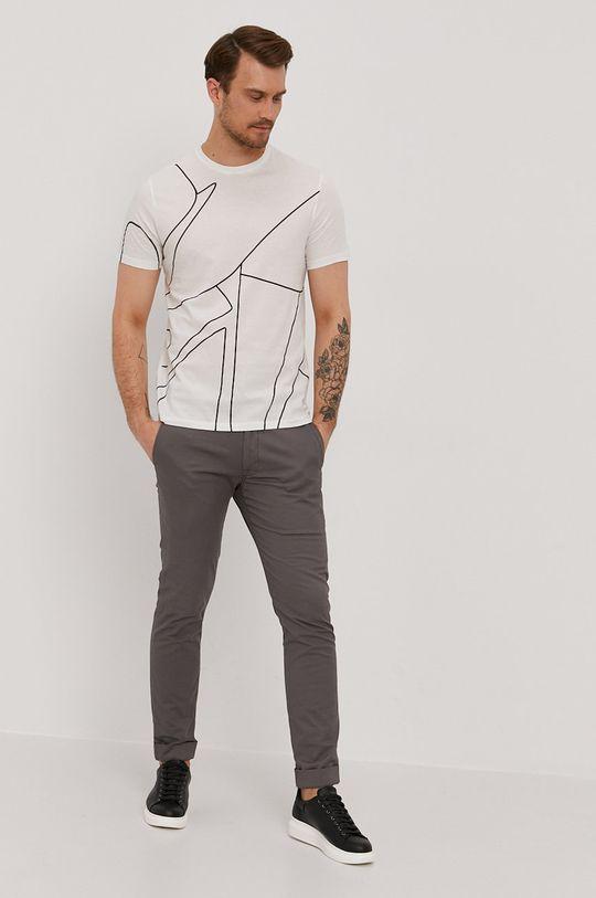 Baldessarini - T-shirt biały