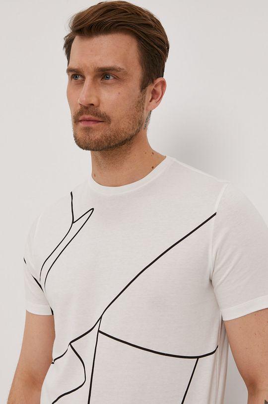 biały Baldessarini - T-shirt