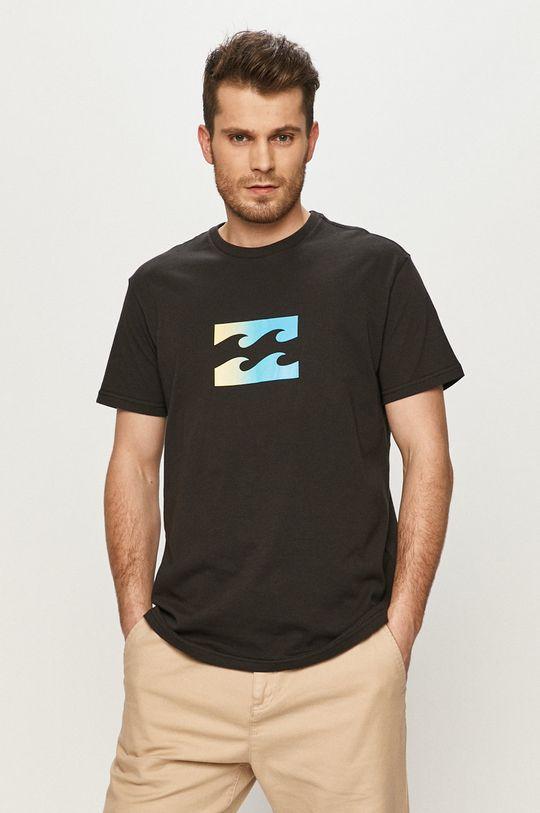 czarny Billabong - T-shirt Męski