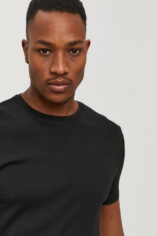 czarny Mustang - T-shirt