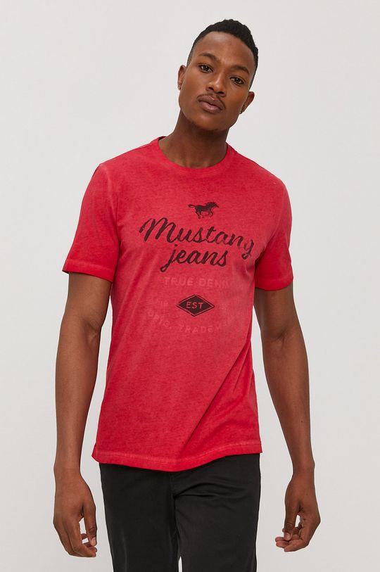 červená Mustang - Tričko
