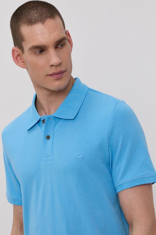 modrá Mustang - Polo tričko Pánsky