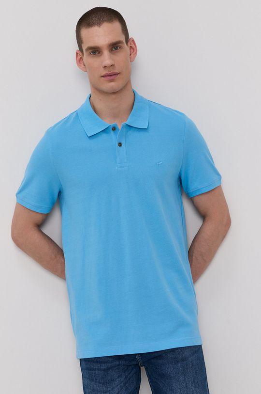 modrá Mustang - Polo tričko