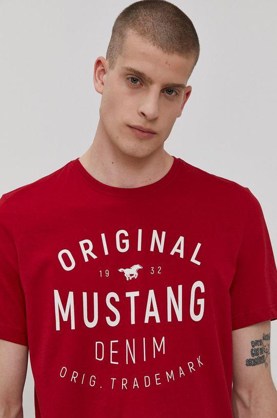czerwony Mustang - T-shirt