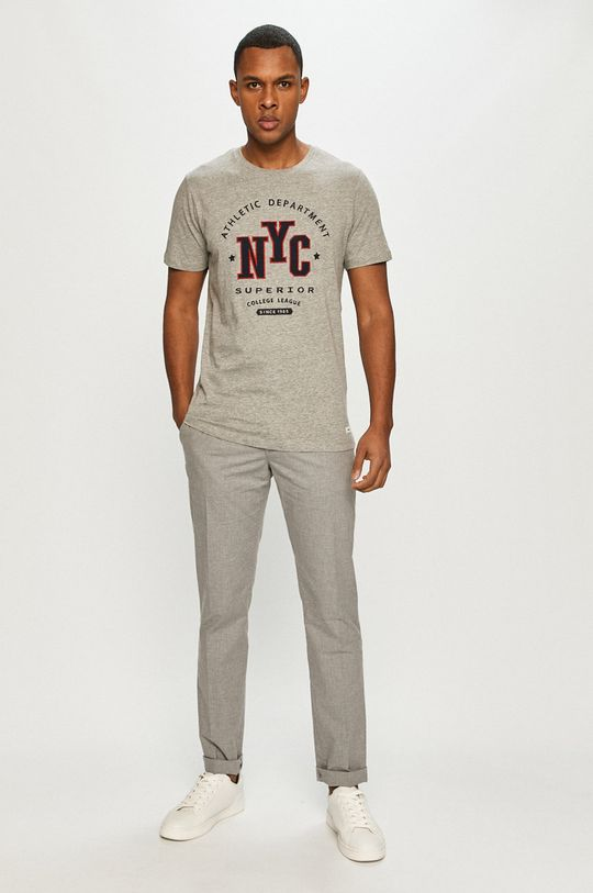 Produkt by Jack & Jones - Tricou gri deschis