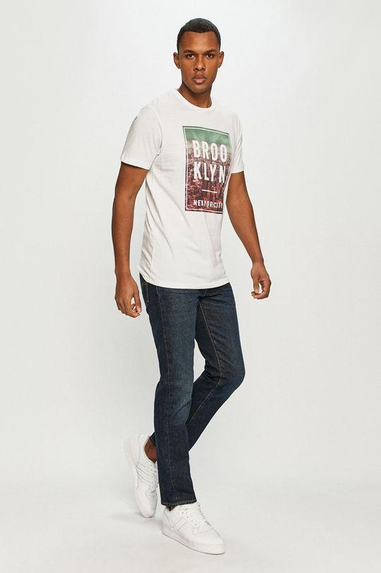 Produkt by Jack & Jones - Tricou alb